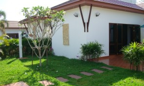 Buy Villa with garden, beatiful pace, beach road rayong