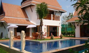 House for sale Thai style Pool Villa , Near the beach Rayong 3-4 bed