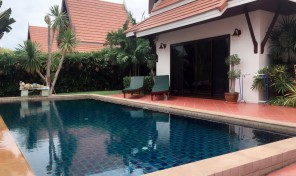 New Oriental Pool Villa for sale on the beach road- VIP Chain Resort Rayong
