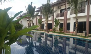 OASIS GARDEN house for sale – Villa & POOL VILLA surounding by tree and peaceful, near beach rayong