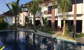 OASIS garden Villa 3 bedrooms with pool on beach Road, Rayong