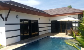 Buy new house 2 bedroom with private pool -Rayong