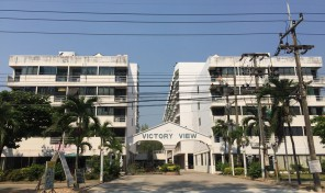 unit for sale on rayong beach road, stuido pool-view Victory Veiw