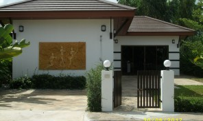 Garden house 2 bedrooms 2 bathroom on beach Road, rayong ,Phe