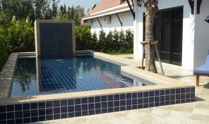 Pool Villa 3 bedrooms in VIP Chain Resort, near beach