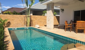 New Lacasa for rent with pool 2 bedrooms, 2 bathrooms just walk to the beach
