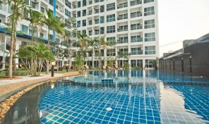 Studio room closed to Jomtien beach – Nam Talay Condominium