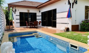 Pool Villa 2 bed for sale and close to beach